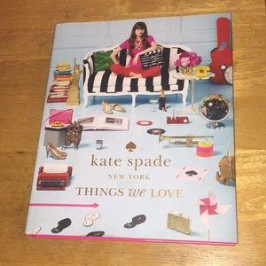 Kate Spade Things We Love Book Hardcover Large